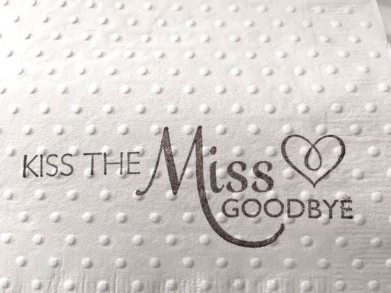 bridal shower napkins party bridesmaid brunch wedding shower engagement party paper napkins embossed napkins from