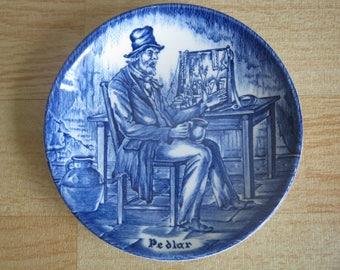 "Enoch Wedgwood Tunstall Ltd ""Pedlar"" Pin dish"