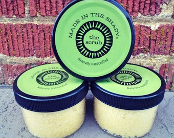 Body Scrub Favors, Organic Sugar Scrub, LAVENDER, Body Polish, Emulsified Sugar Scrub,Aromatherapy Scrub, Spa gift, Natural Sugar Scrub, 8oz