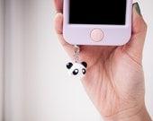 Cute Panda Phone Plug Cha...