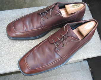 Cole Haan Used Brown Leather Oxfords 11