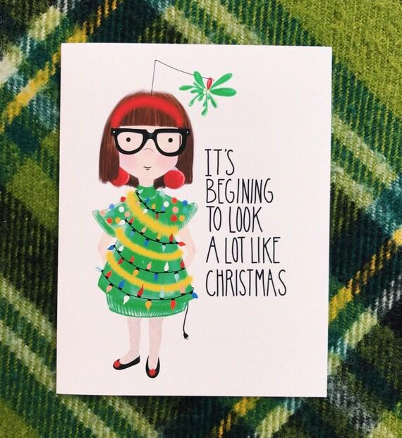 A Lot Like Christmas Card