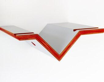 Velo Cabinet Nr.7 Grey Special - High Quality Bike Shelf