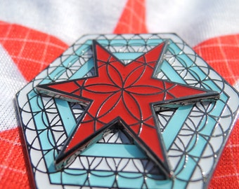 Chicago life spinner pin Pre sale LE:52 - Summer camp, Electric Forest, Zeds Dead, Excision, Bassnectar, Griz, NYE, shirt, clothing.