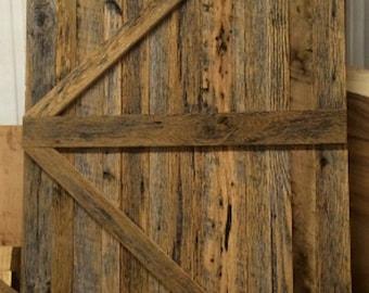 reclaimed barn wood barn doors