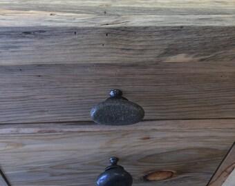 Reclaimed Beetle Kill File Cabinet