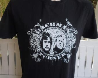 Size L (44)  -- Bachman Turner Overdrive Concert Shirt (Double Sided)