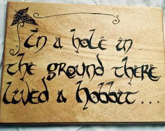 Hobbit wall art