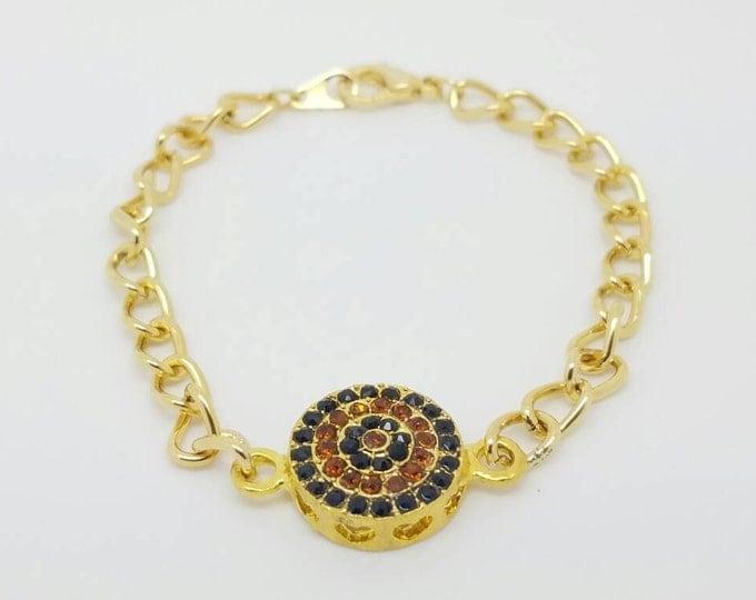Gold charm bracelet Charm gold jewelry gold bracelet gold jewelry shinny gold bracelet