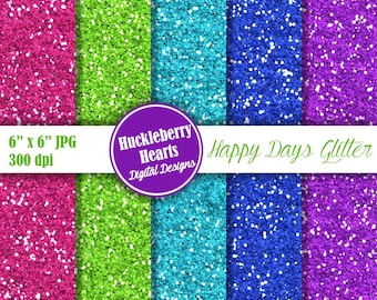 Digital Glitter Paper, Bright Glitter Paper, Glitter Paper, Glitter Texture, Printable, Commercial Use