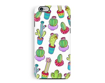 iPhone 6 Protective Case, Protective iPhone 5s Case, Cactus Phone Case, Kawaii iPhone 5s case, Bumper iPhone case, Mexican iphone 6 cover
