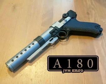 Jyn Erso A180 Blaster Prop Replica - Film Accurate - 3D Print