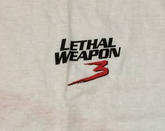 Lethal Weapon 3 offcial movie tee