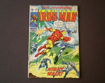 Iron Man 40, (1971), White Dragon, Marvel Comics IJ