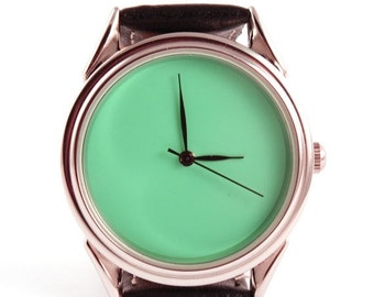 25% OFF ON SALE Turquoise watch, quartz watch, turquoise green