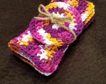 100% Cotton Dishcloths and Scrubby