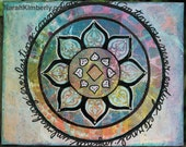 Mixed Media Mandala Art P...