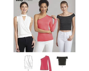Simplicity Sewing Pattern 8386 Misses' Knit Top