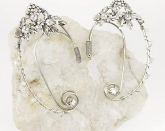 Elven Ear Cuffs - Elf Ear Cuffs - Fairy Ear Cuffs - Fairy Ears - Wire Ear Cuffs - Woodland Elf - Fairy Ear Cuffs - Ear Cuffs