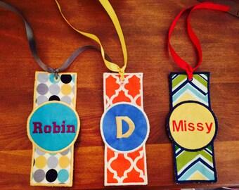 Bookmark embroidered bookmark bookmark gifts personalized bokmarks personalized gifts bookmarks hndmade bookmark handmade gift