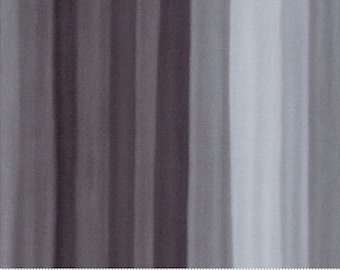 SPECTRUM Ombre Stripes in Grey Scale by V and Co for Moda