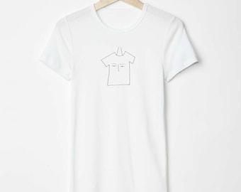 tshirt face screen printed tshirt