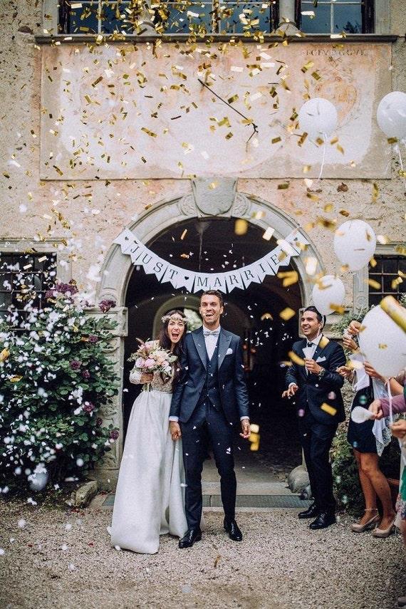 Gold Confetti Cannon Flick Stick Launcher Wedding Ideas Gender Reveal
