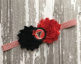 Falcons Headband - Atlana Falcons Headband - falcons Bow - atlanta falcons bow - Atlanta Falcons - Falcons Shirt - Atlanta Falcons shirt