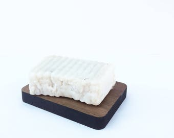 Soap Holder, Wooden Walnut Soap Dish