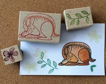 Stamps series deer