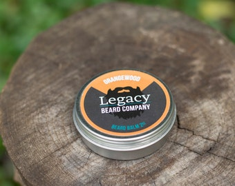 Orange Wood Beard Balm (2 oz)