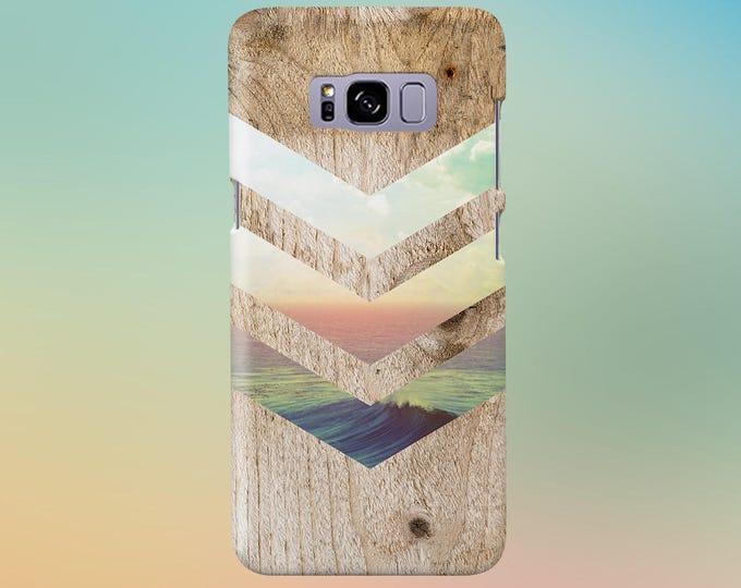 Featured listing image: California Skies Ocean Wood Phone Case, iPhone 7, iPhone 7 Plus, Rubber iPhone Case, Galaxy s8 Samsung Galaxy s8 Plus Nature CASE ESCAPE