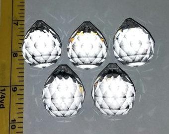 30mm Genuine Asfour Crystal Balls - 5 piece