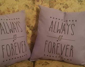 Romantic Themed Pillows