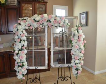 Wedding Arch, Floral Arch, Wedding Arch Decoration, Arch Flower , Wedding flower Chuppah flower, Peony Rose arch, Garden Fresh Arch,