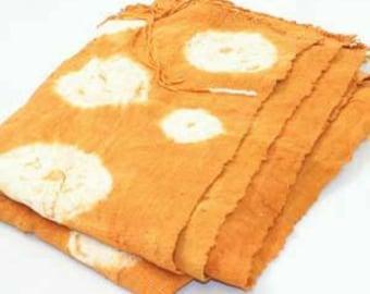 African Mud Cloth Orange