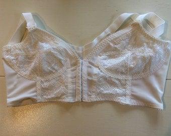 1960s bra, plus size, vintage lingerie, 60s, large, 40B, 40C, lingerie