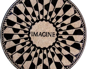 Modern Mosaic Medallion - Imagine