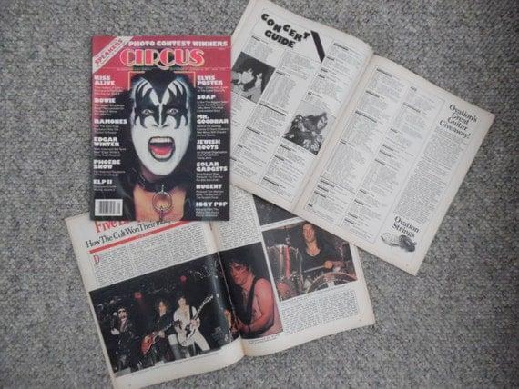 CIRCUS Entertainment Magazine Issues – vintage