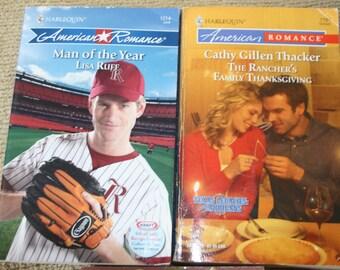 3 Harlequin American Romance books / Harlequin novels