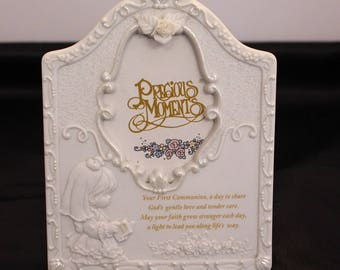 Precious Moments Picture Frame for a First Communion, Child Frame
