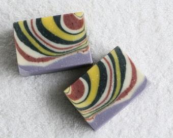 Organic Lavender Chamomile Handmade Soap, Natural Handmade Soap, Olive Oil Soap, Vegan Soap