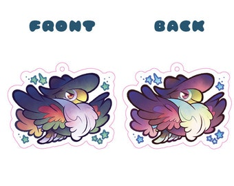 Pokemon Honchkrow Acrylic Charm