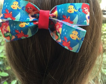Ariel (Little Mermaid) Hair Bow