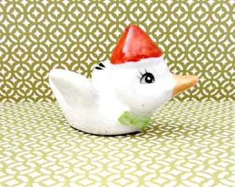 Vintage Ceramic Duck Figurine