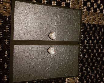 Swirl handmade card