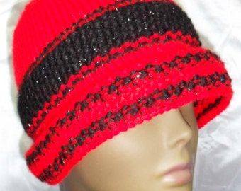 Sophie Hand Knit Cloche Hat