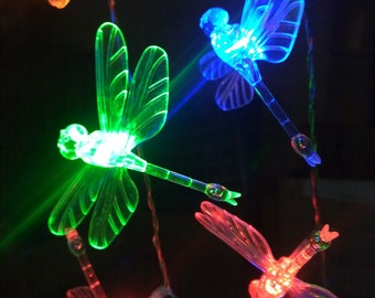 Dragonfly Battery Operated 40LED Christmas Wedding String Fairy Lights