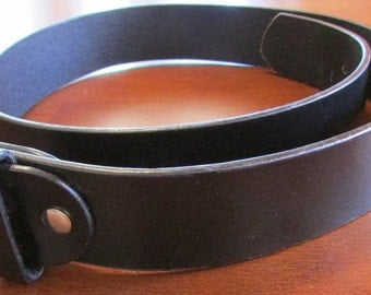 Like New Black Leather Belt