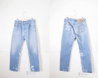 Levi's 501 Jeans, Destroyed Jeans, Button Fly Levi Jeans, Boyfriend Jeans, 80s Jeans, High Waist Jeans, Slim Fit Denim Jeans, 90s Jeans